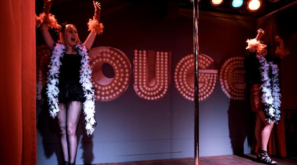 Slide 2: Workshop Burlesque Vriendinnenuitje